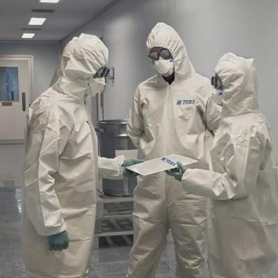 Large Scale Decontaminations
